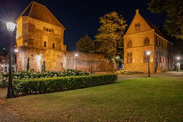 Zwolle Wijndragerstoren-Meerminneplein von Fotografie Thilou van Aken
