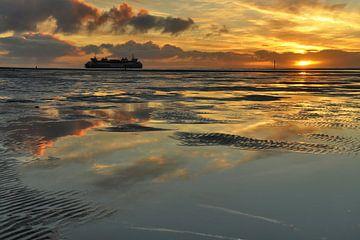 Veerboot naar Texel van Ronald Timmer