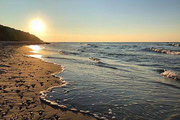 Rügen Nordstrand Sonnenuntergang van