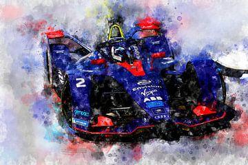 Sam Bird, Formule E van Theodor Decker