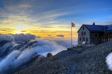 Blümlisalp Hütte II von Gerhard Albicker