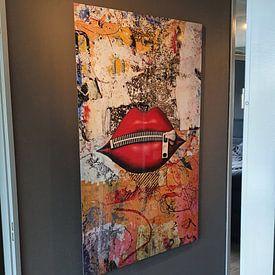 Klantfoto: Zipped number one van PictureWork - Digital artist, op aluminium