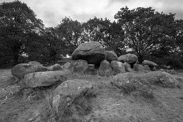 Hunebedden Drenthe van Peter Bartelings Photography