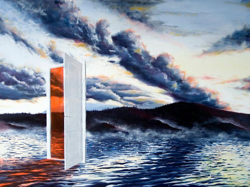 de deur in het meer van David Berkhoff