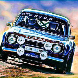 Ford Escort Rallye - Variante II van Jean-Louis Glineur alias DeVerviers