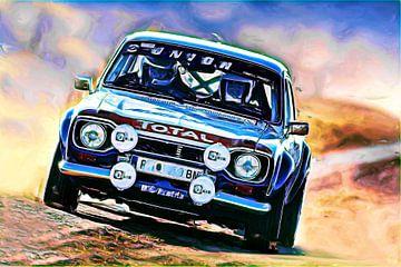 Ford Escort Rallye - Variante II van DeVerviers