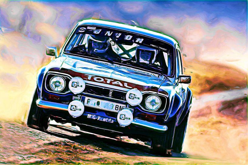 Ford Escort Rallye - Variante II von Jean-Louis Glineur alias DeVerviers