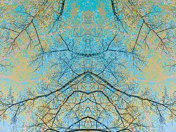 Spring forest #7 van Leopold Brix