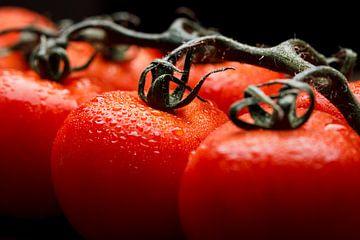 Tomaten in close-up I van Mister Moret Photography