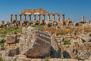 Acropolis, Selinunte, Sicily van Gunter Kirsch