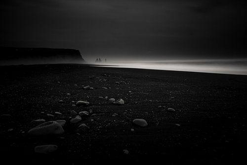 Zwart strand van