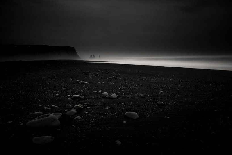 Zwart strand van Prachtt