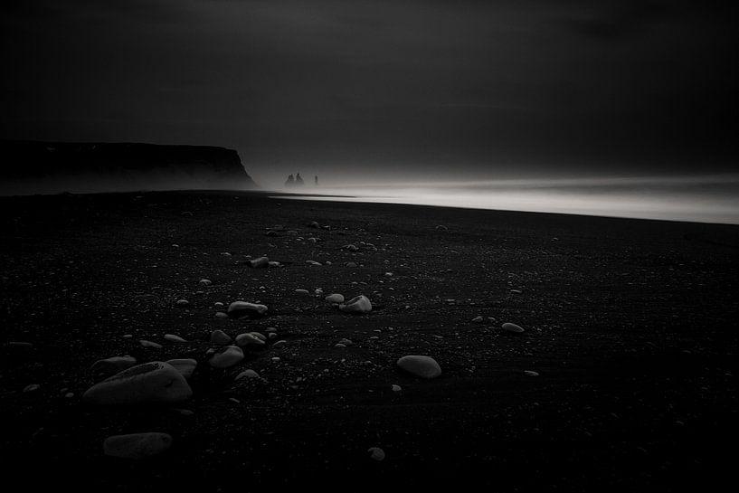 Zwart strand van CANI Fotografie.