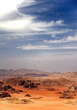 Wadi Rum, Jordanie von Gerard Burgstede