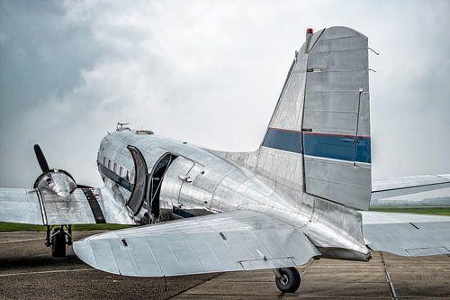 Douglas DC-3 propellervliegtuig van Sjoerd van der Wal
