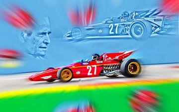 Legends – 312B and Jacky Ickx van Jean-Louis Glineur alias DeVerviers