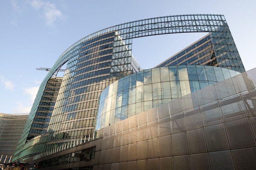 Moderne architectuur 3 van Mark Bolijn