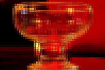 fotoGrafiek 1 (Glass) von Hans Levendig