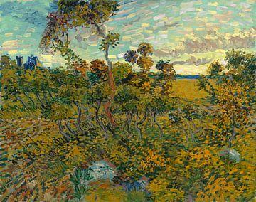 Sunset at Montmajour, Vincent van Gogh sur