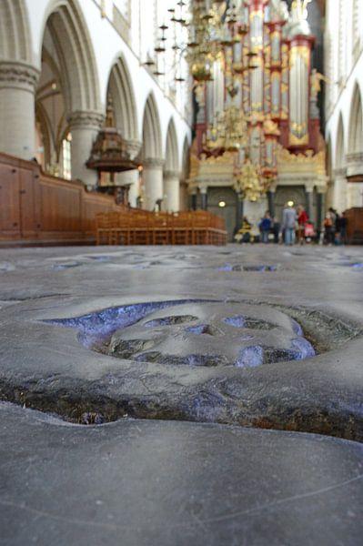 Bavo kerk in Haarlem van Fraukje Vonk