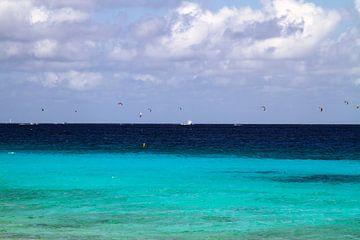 Bonaire kitesurf wedstrijd in volle gang sur noeky1980 photography
