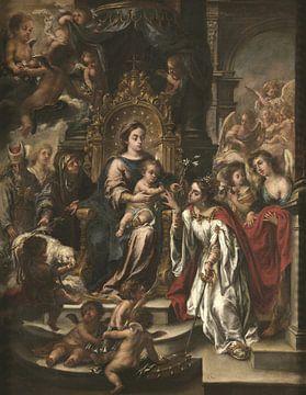 Mystische Hochzeit der heiligen Katharina, Juan de Valdés Leal
