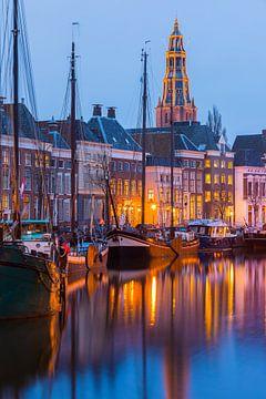 Hoge der A en Lage der A, Groningen, Pays-Bas sur Henk Meijer Photography