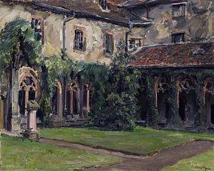 Kreuzgang des Augustinerklosters in Landau II, MAX SLEVOGT, 1912