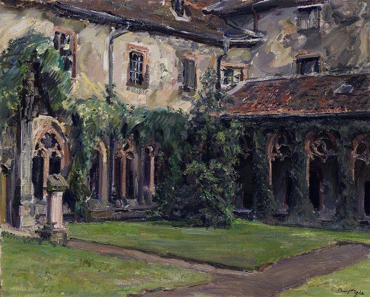 Kreuzgang des Augustinerklosters in Landau II, MAX SLEVOGT, 1912 von Atelier Liesjes
