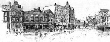 Doelen Hotel, Amsterdam van Christiaan T. Afman