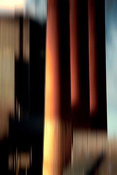 Factory Chimneys in Motion von Jan Brons