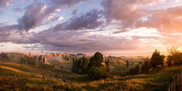 De mooiste zonsopkomst - Panorama van