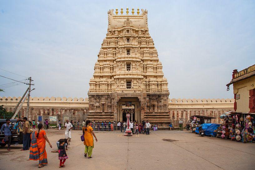 Ranganathaswamy Temple, Indien van Jan Schuler