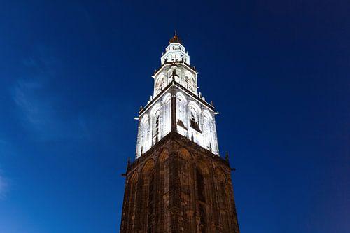 Martinitoren bij Avond