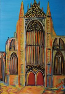 Hooglandse Kerk Leiden von