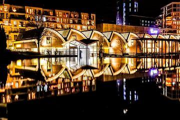 Den Bosch bij nacht van Tim Doomernik