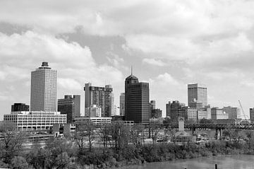 Skyline Memphis von Arno Wolsink