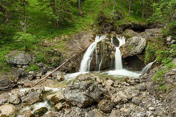 Bij de watervallen van Farchant...