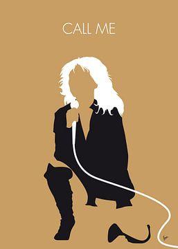 No030 MY Blondie Minimal Music poster van Chungkong Art