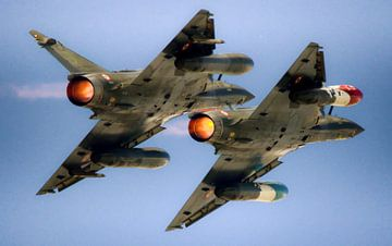 Mirage 2000D in formatie van Stefano Scoop