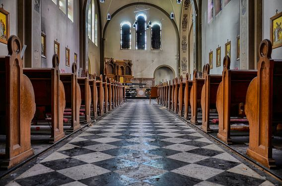 St Anna Chapel (Urbex) van Jaco Verheul