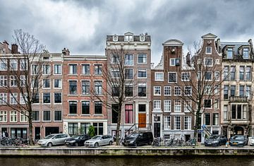 Een stukje van de Nieuwe Herengracht in Amsterdam. van Don Fonzarelli