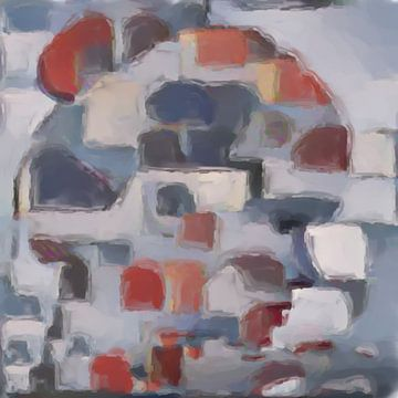 Abstrakte Inspiration LIV von Maurice Dawson