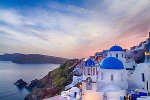 Oia Sunset I, Santorini van