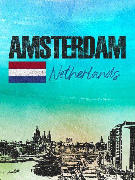 Amsterdam van Printed Artings