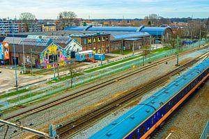 Spoorzone Tilburg van