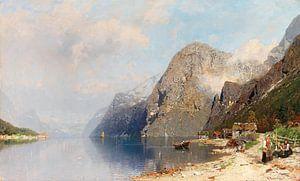 Fjordlandschaft, Georg Anton Rasmussen