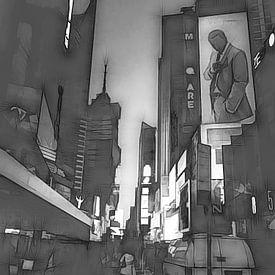 Time Square van Joris Pannemans