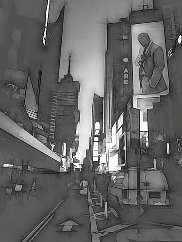 Time Square von Joris Pannemans