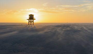 sunset vliehors sur hein van houten